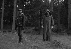ACTUAL PAIN - ACTUAL PAIN #forest #cloak #white #black