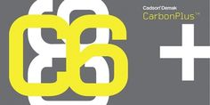 CarbonPlus™ - Webfont & Desktop font « MyFonts #typography
