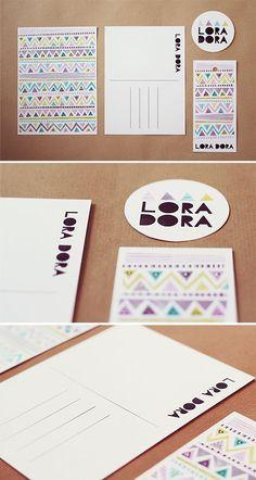 lora dora #logotype #identity #geometric #pastel