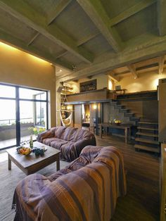 Eddy Loft – Apartment in Ex-Factory Building / Open AD