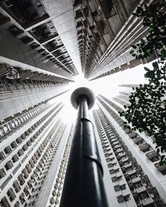 Stunning Sky High Architecture Photography by Irwin Chan