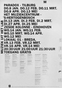 Hans Gremmen | AisleOne #international #hans #typographic #poster #gremmen #style #typography