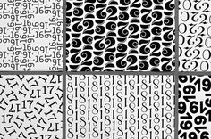 Typography gift wrap paper on Behance #wrap #gift #behance #paper #typography