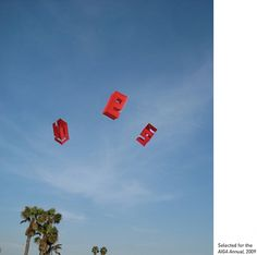 Letter Box Kite #kite #typography