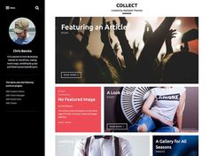 Collect : Stylish Blogging Wordpress Theme