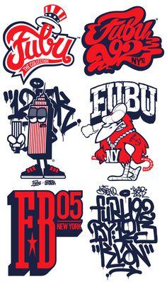 #123KLAN #Fubu #logos #streetwear #graffiti