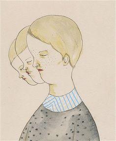 allyson mellberg, la artista responsable | lamono magazine #illustration