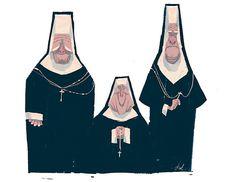 Jullian Rossire - Nuns #nuns #character #sketch