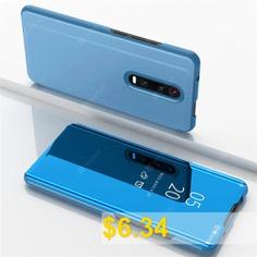 Flip #Mirror #Full #Body #Phone #Case #for #Xiaomi #Mi #9T #/ #9T #Pro #/Redmi #K20 #/ #K20 #Pro #- #SKY #BLUE