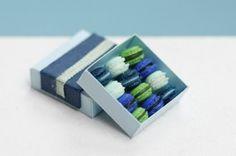 Miniature Macaroons by Stephanie Kilgast | PICDIT #design #sculpture #art #food