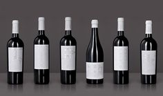 The MESA Project - Wine Packaging Blog - The Dieline Wine #project #silver #black #label #wine #mesa #stamping #foil