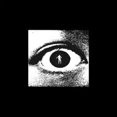 #graphic #man #eye #eyes #black #black and white #poster #artwork