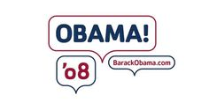 Obama 08 logo design #logo #political #obama