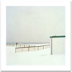 u-turn : Christian Tochtermann #snow #belgium #sea #photography #beach