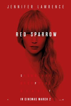 New Poster and Trailer for Red Sparrow Starring Jennifer Lawrence
