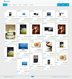 Pinmart - Responsive Virtuemart Template #virtuemart #responsive #pinterest #25 #template #joomla
