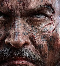 Lords of the Fallen game on Behance #computer #fantasy #nose #generated #scar #eyes #design #soldier #skin #pores #imagery #illustration #battle #face #fight #warrior #game