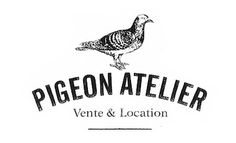 +++ Pigeon Atelier - Vintage shop #logo