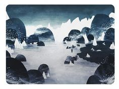 Arctic Explorers by Adam Hancher - Adam Hancher - Gallery #bear #illustration #polar