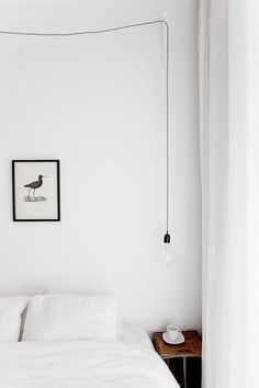 Bedroom. Photo by Jakob Nylund. #bedroom #simplicity