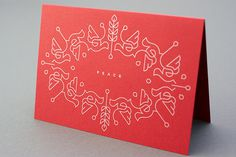 Christmas card 2012 › Dan Forster #type #illustration #line #art