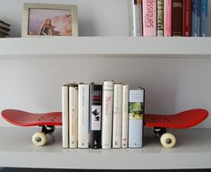 Tail and Nose Bookends by Skate-Home #cool gadget #gadget #gadget flow #gift ideas #tech