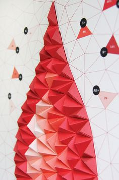 Pattern Matters: Tangible Paper Infographic on Behance #info
