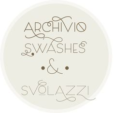 Archivio Swashes http://www.myfonts.com/fonts/resistenza/archivio/