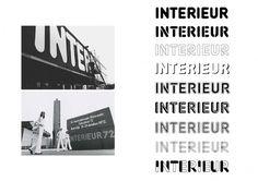Interieur typeface : SUEH LI #interieur #suehlitan #sueh #li #typeface #typography