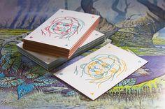 Identity cards by Sodafromthehut. Offset print