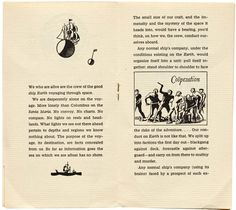 W. A. Dwiggins, Good Ship Earth, Typophiles, NY, 1943 - pages 4–5