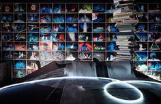 Elenberg Fraser by Peter Clarke Photography Australia #black #fraser #photography #architecture #elenberg #australia #neon