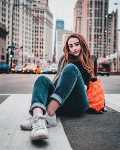 Moody Street Style Portrait Photography by Vanan Nguyen