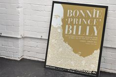 Bonnie Prince Billy – Band Marketing | Monogram #monogram #illustration #poster