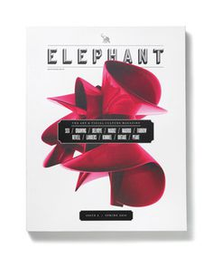 Elephant Magazine: Issue 2 #layout #book #publication #typography