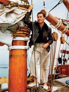 Large image #boating #leather
