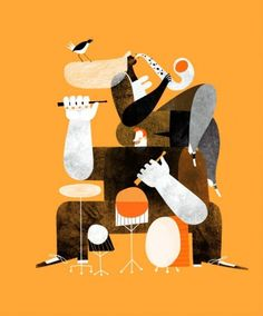 grain edit · Maria Corte #music #illustration