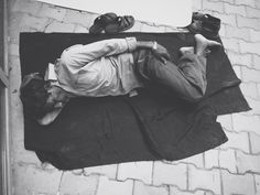Sleeping #man #sleep #poor #on the floor