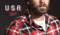 Eight Hour Day » Blog #usa #beard #typography #beer
