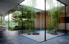 modern zen garden - #outdoor #garden #landscaping #interior #decor #home