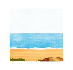 Beach #illustration #sea #sand #applique #beach