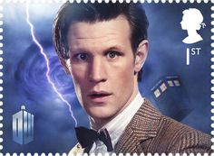 Doctor Who #who #stamp #doctor