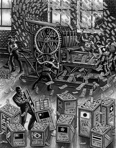 Black and White by Douglas Smith #illustration #white #black #and