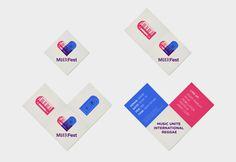 MUIRFest Branding #invite #pamphlet #unite