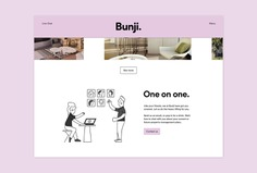Bunji Identity - Mindsparkle Mag Emily Clarke designed the Identity for Bunji, a brand that is redefining property management once and for all. #logo #packaging #identity #branding #design #color #photography #graphic #design #gallery #blog #project #mindsparkle #mag #beautiful #portfolio #designer