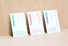 Tavares by Landscape #business #card