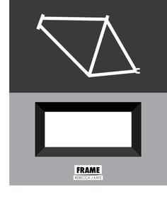 Rebecca J Kaye Weekly Workings: Frame #frame #bike #minimalism