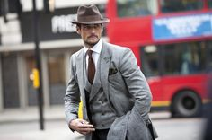 London Collections Men 2013 Street Style shots © CHASSEUR MAGAZINE #fashion #london #mens fashion
