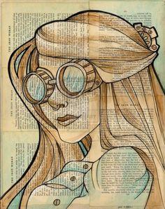 The Iron Woman by Karen Hallion | Cuded #woman #hallion #karen #iron #the