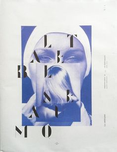 RICH BLAKE #print #typography #serif #cover #magazine #display